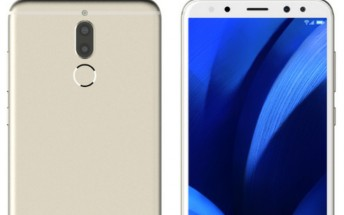 Quad-camera Huawei G10 (Maimang 6) with 18:9 screen now leaks in press renders