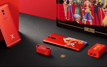 Meizu announces M6 Note One Piece special edition in red with yellow accents