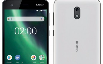 Nokia 2 leaked press renders show us black and white color versions, software buttons