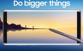 Galaxy Note8 pre-orders top all of its predecessors' in the US, 400,000 logged in one day in Korea