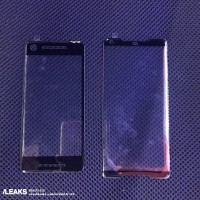 Screen protectors for the Pixel 2 and 2 XL, showing the stereo speaker cutouts