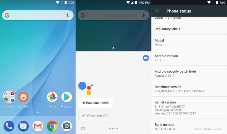 Xiaomi Mi 5X gets a stable Android One ROM port - GSMArena