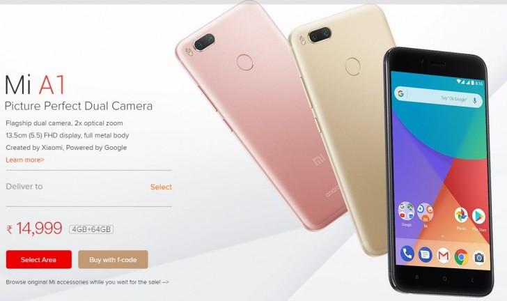 Xiaomi Mi A1 global rollout starts - GSMArena com news