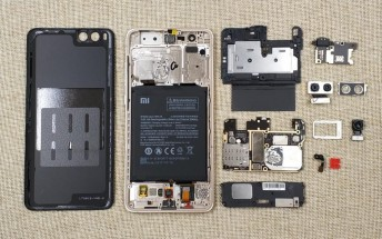Xiaomi Mi Note 3's innards revealed in teardown