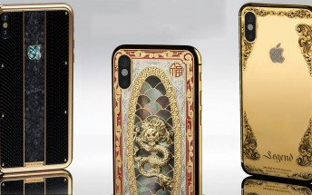 Legend introduces diamond-studded iPhone X collection