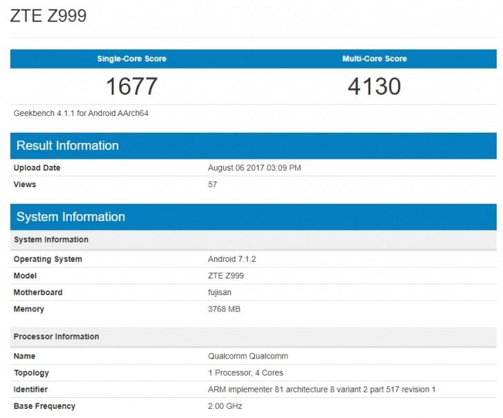 Картинки по запросу Snapdragon 821 ZTE Axon M