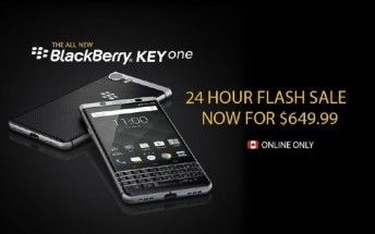 BlackBerry Keyone gets discounted for a day in Canada