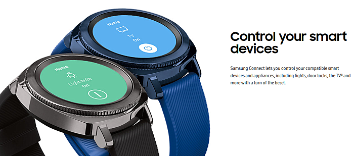 Samsung Gear Sport lets you control smart devices with a turn of the bezel