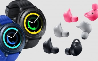 Samsung Gear Sport and Gear IconX (2018) go on pre-order tomorrow ahead of October 27 release