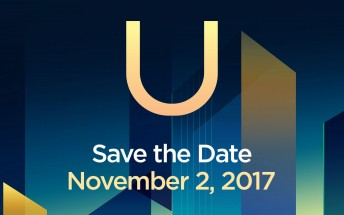 HTC officially confirms it's bringing a new U device on November 2