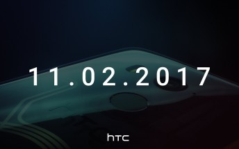 New HTC teaser for November 2 event shows a phone with a fingerprint scanner on its back