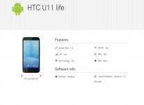 HTC U11 Life specs by T-Mobile