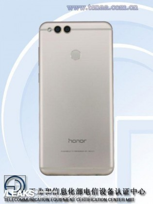 Huawei Honor 7X back