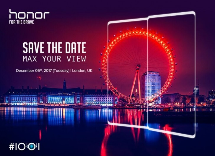 Honor to launch a bezel-less phone in December