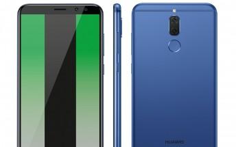 Another Huawei Mate 10 Lite render leaks online