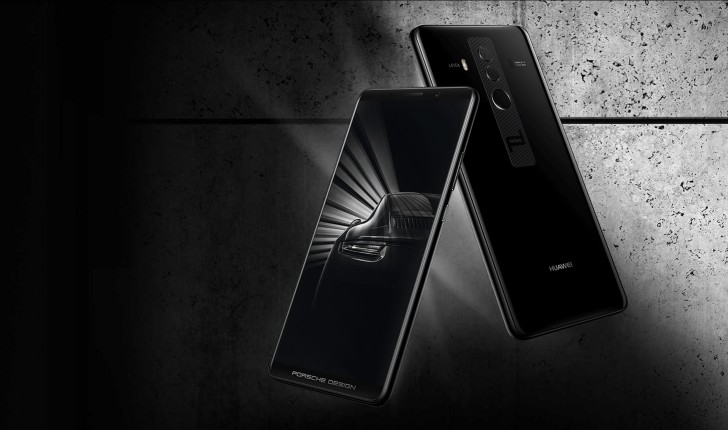huawei mate 10 pro and porsche design unveiled with 6 18. Black Bedroom Furniture Sets. Home Design Ideas