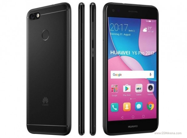 Huawei Y6 Pro (2017) launches in Europe - GSMArena.com news