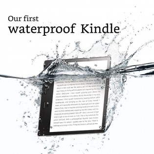 Kindle Oasis 2nd gen: IPX8 waterproof