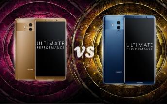 Huawei Mate 10 vs. Mate 10 Pro: screen battle