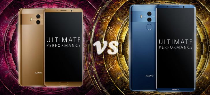 The Pro model packs AMOLED while the base Mate 10 uses LCD. This brings  much a higher contrast ratio and better colors – while both displays  support HDR10, ...