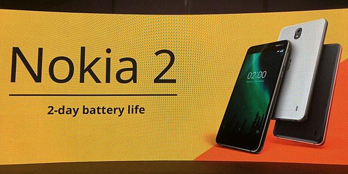 África do Sul torna-se o segundo mercado a receber o Nokia 2