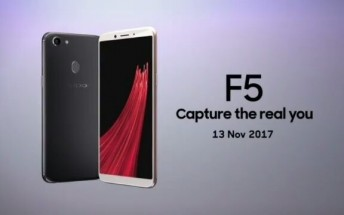 Oppo F5 appears in video commercial