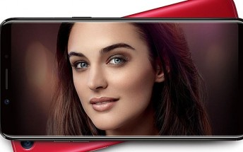 Oppo F5 now available in India for $308