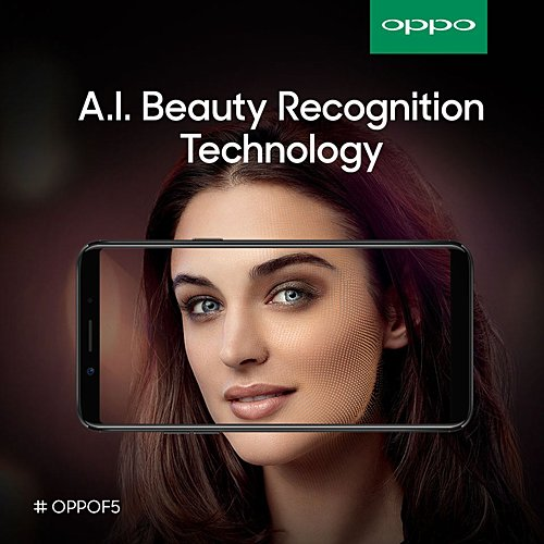 OPPO F5 with full screen display and intelligent selfie cam in tow