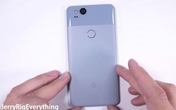 Google Pixel 2 undergoes durability test