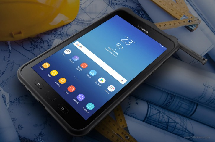 samsung galaxy tab active 2 debuts with rugged body mid range specs