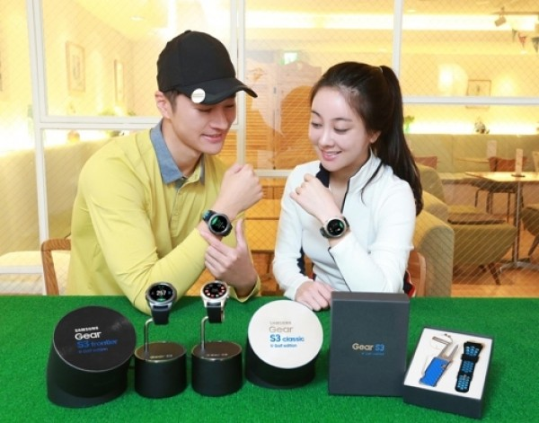 Samsung introduces Gear S3 Golf Edition in South Korea