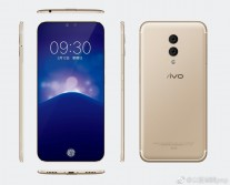vivo xplay7 renders in Gold