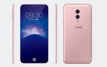 Vivo Xplay7 first renders appear in presentation