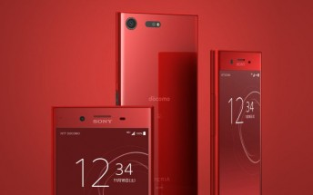 Red Sony Xperia XZ Premium now available outside Japan