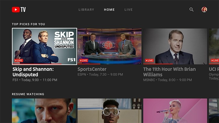 YouTube TV finally gets apps for smart TVs, Android TV, Xbox