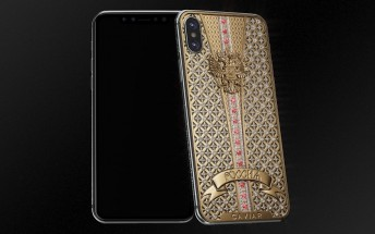 Caviar launches unique iPhone X with over 300 precious stones for €34,000