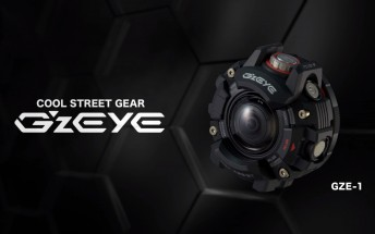 Casio announces G'z EYE series of rugged action cameras starting with GZE-1