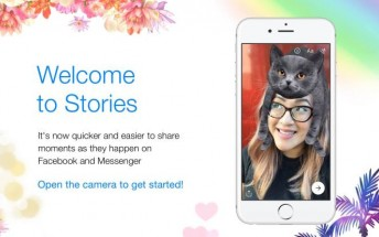 Facebook and Messenger will now share the same Stories