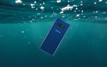 Samsung Galaxy Note8 in Deepsea Blue launching in the US next week