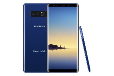Samsung Galaxy Note8 in Deepsea Blue