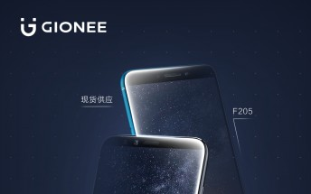 Gionee teases F6 and F205 bezel-less smartphones, announcement in 5 days