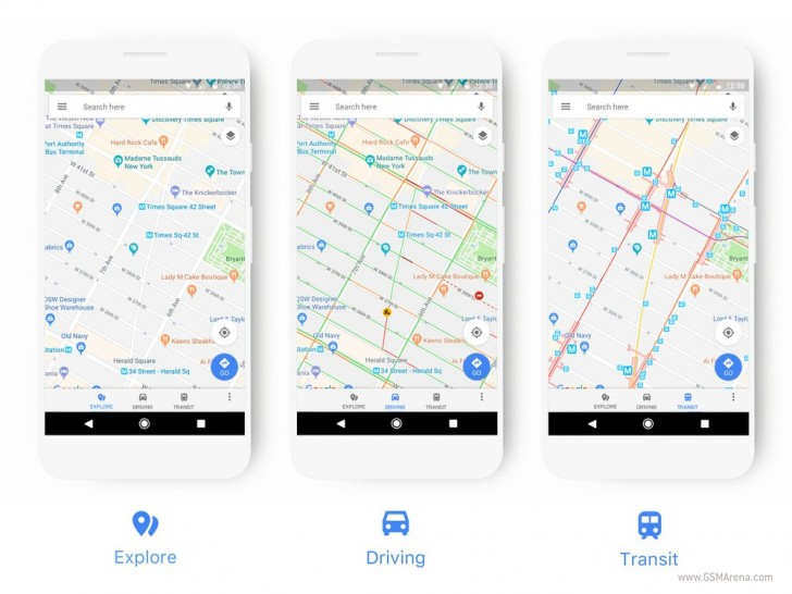 Google Maps gets makeover with new colors and icons