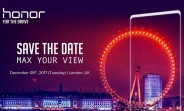 Honor V10 with bezel-less screen to launch in China on 28 November