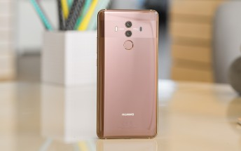 The Huawei Mate 10 Pro now on sale in the UK