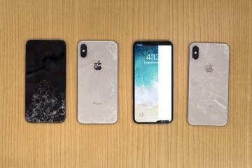 iPhone X shows its battle scars