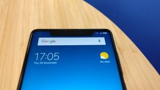 Xiaomi Mi Mix 2 with a faux screen notch