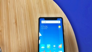 Xiaomi Mi Mix 2 with a faux screen notch
