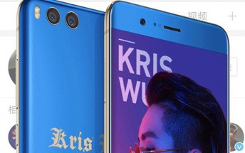 Xiaomi Mi Note 3 gets new Kris Wu Limited Edition variant