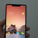 Alleged Xiaomi Mi Mix 2s photos show a display cutout on top