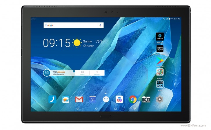 Lenovo rolls out AT&T-exclusive, made to entertain Moto Tab
